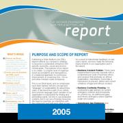 2005 Triple Bottom Line Report Cascade Engineering