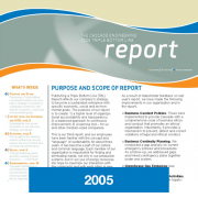 2005 Triple Bottom Line Report Cascade Engineering