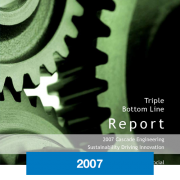 2007 Triple Bottom Line Report Cascade Engineering