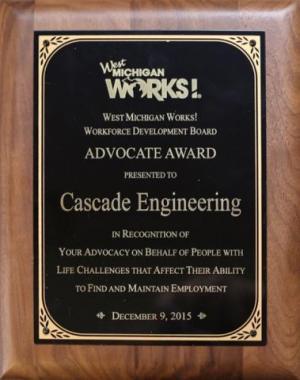 West Michigan Works Advocate Award