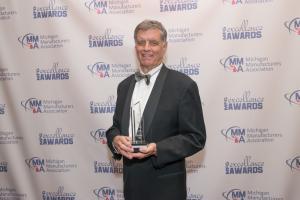 Fred Keller Michigan Manufacturing Association Lifetime Achievement Award
